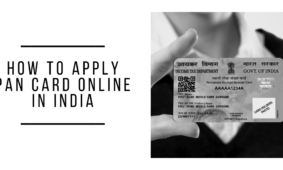 How To Apply Pan Card Online In India